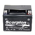 YT4L-BS Scorpion 12v 60 CCA Sealed AGM Motorcycle Battery