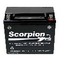 YTX20HL-BS Scorpion 12v 275 CCA Sealed AGM Motorcycle Battery