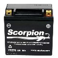 YTZ7S Scorpion 12v 120 CCA AGM ATV & Motorcycle Battery