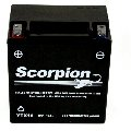 YTX16-BS Scorpion 12v 230 CCA AGM Power Sport & Motorcycle Battery