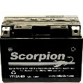 YT12A-BS Scorpion 12v 175 CCA AGM Scooter & Motorcycle Battery