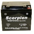 YT16BL Scorpion 12v 270 CCA AGM Power Sport & Motorcycle Battery