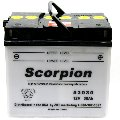 53030 Scorpion 12v 300 CCA Motorcycle Battery with Acid Pack