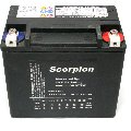 hYTX16BHL Scorpion 12v 300 CCA Harley HVT-4 AGM Motorcycle Battery